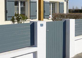clôtures et claustras en composite poluyréthane