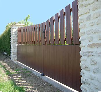 portails et portillons en composite polyuréthane