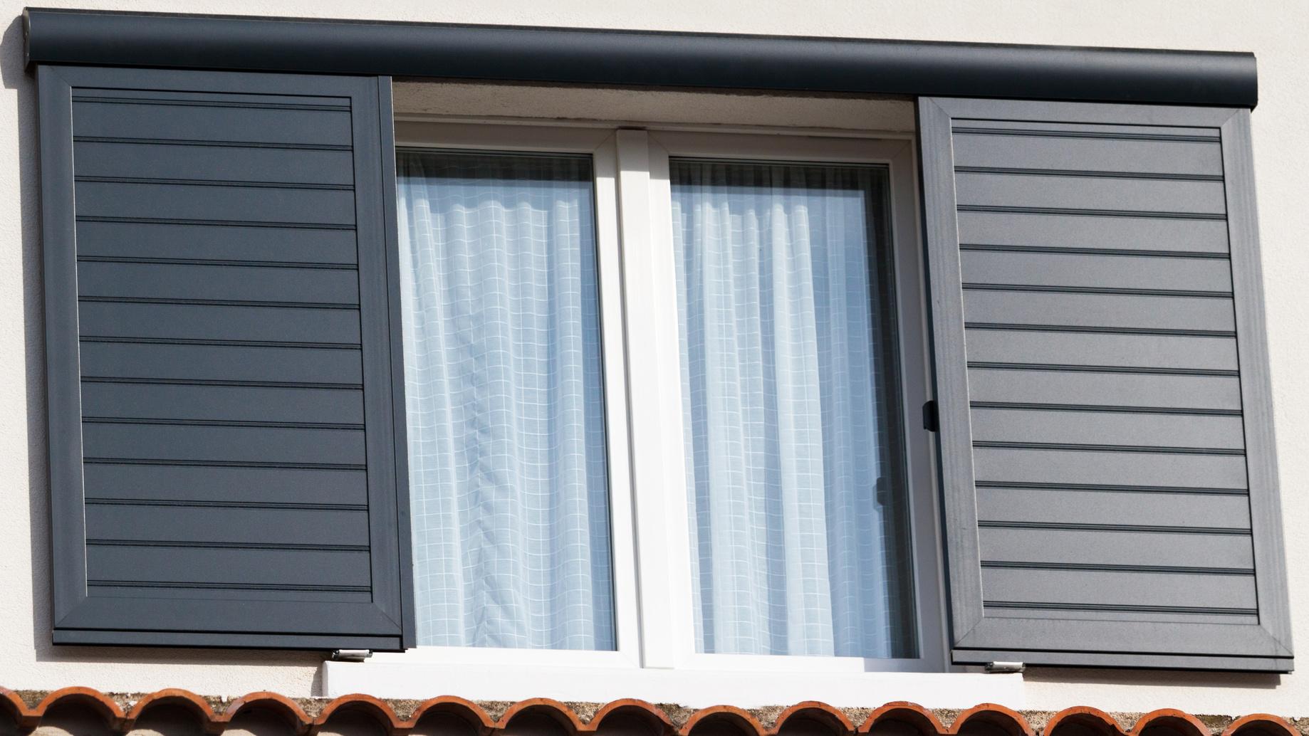 Fenêtre et volets Aluminium article blog Vue d'ici